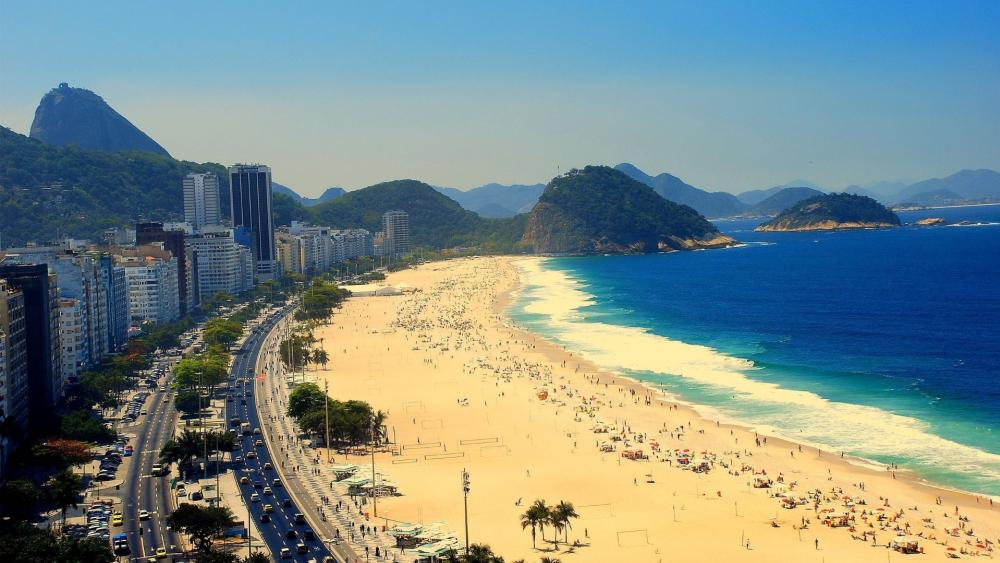 Copacabana wallpaper