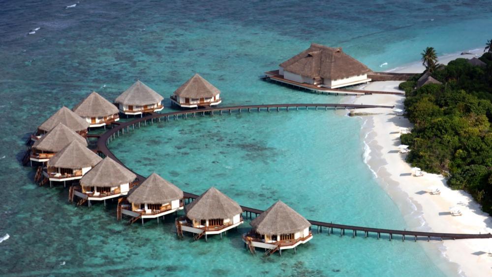 Adaaran Prestige Water Villas, Maldives wallpaper