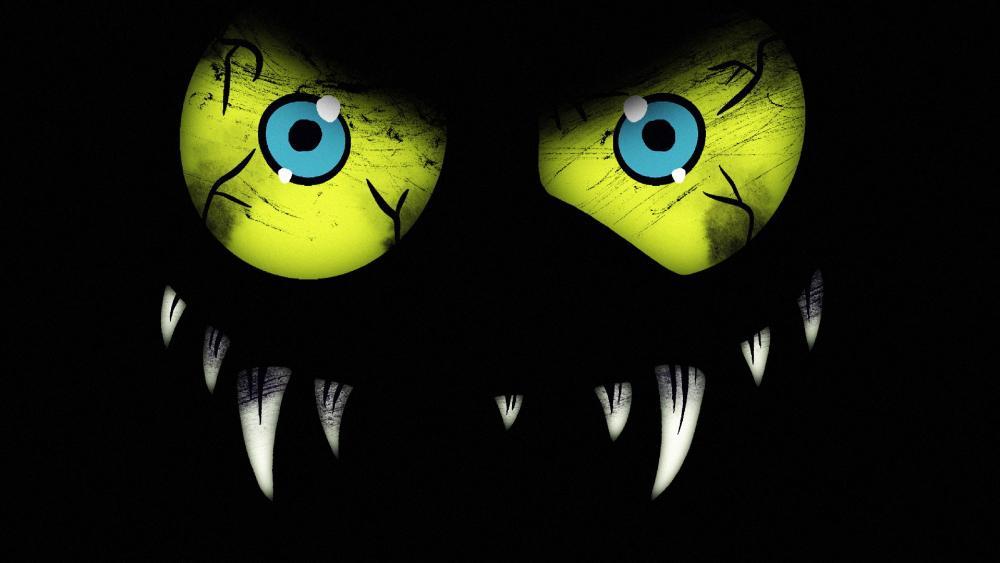 green eyed monster monster wallpaper