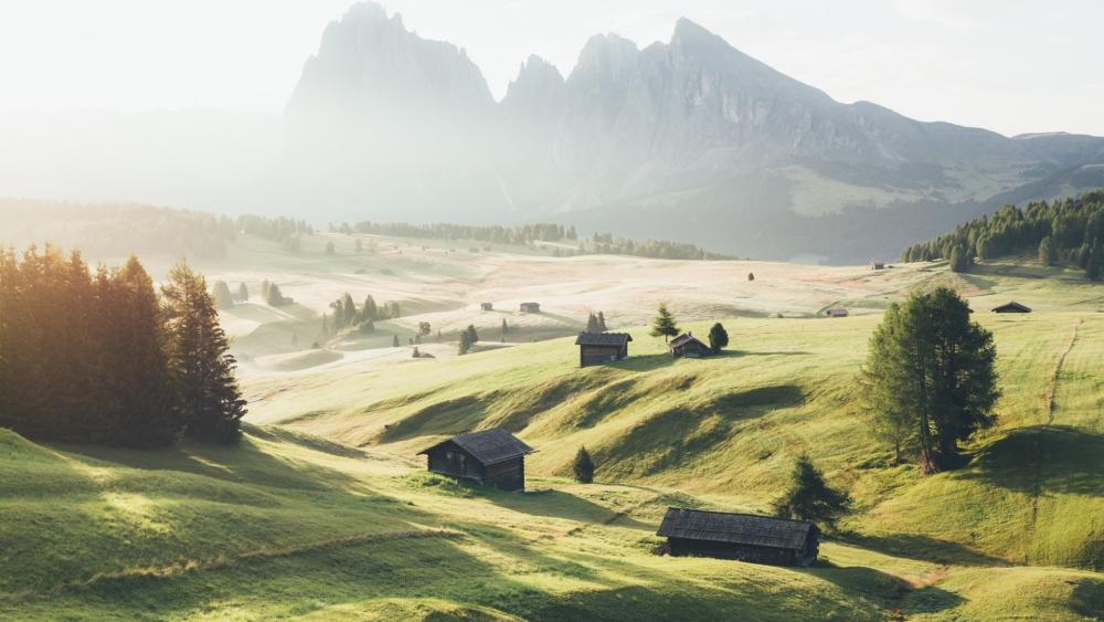 Alpe di Siusi wallpaper