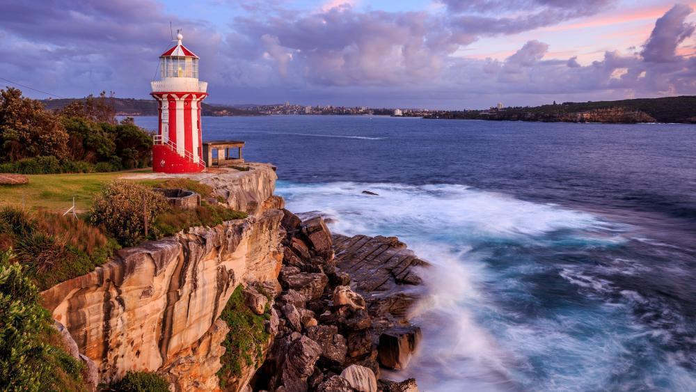Hornby Lighthouse wallpaper