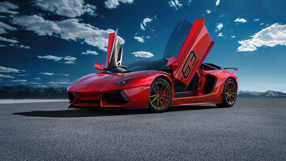 2020 Lamborghini Aventador SVJ wallpaper