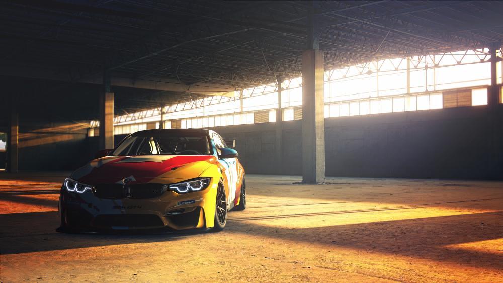 BMW M4 GT4 wallpaper