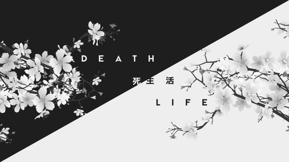 Life/Death japanese wallpaper