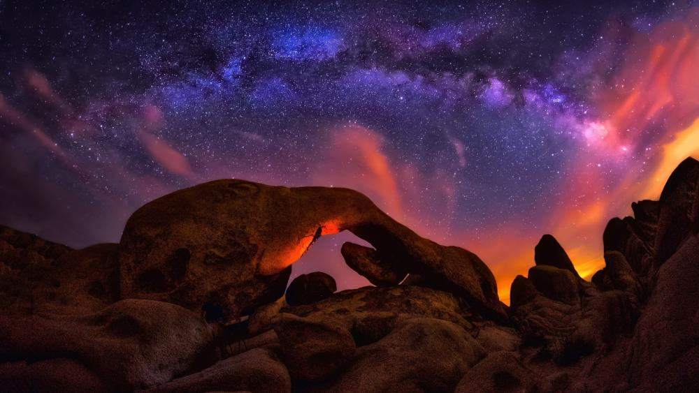 Arch Rock Nature Trail (Joshua Tree National Park) wallpaper