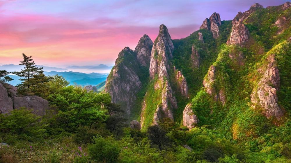 Mountains rocks wallpaper