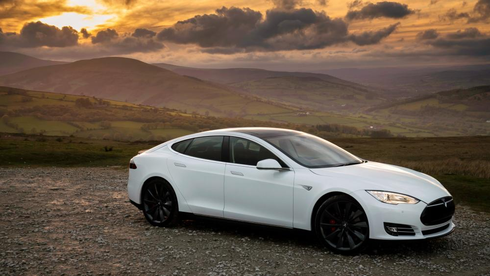 Tesla Model S P85 wallpaper