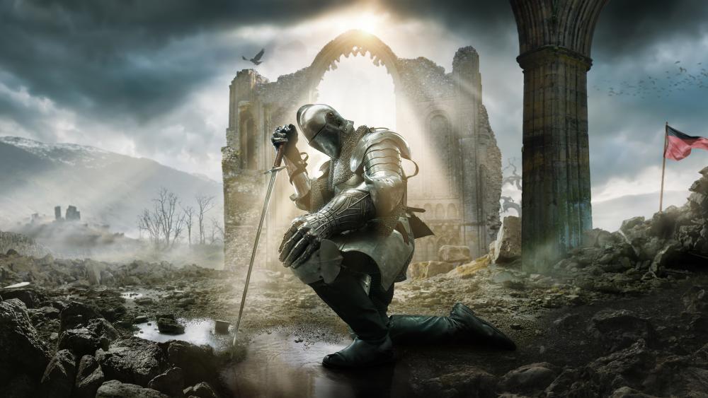 Templar knight wallpaper