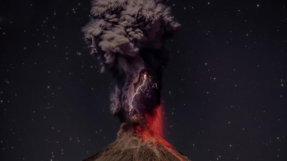Taal Volcano wallpaper