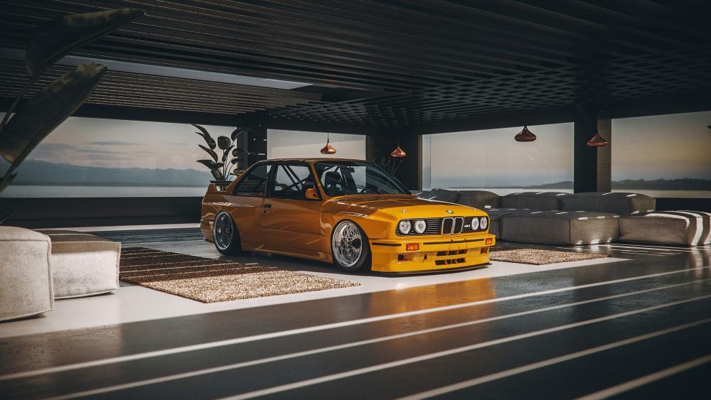 BMW E30 DTM T7 wallpaper