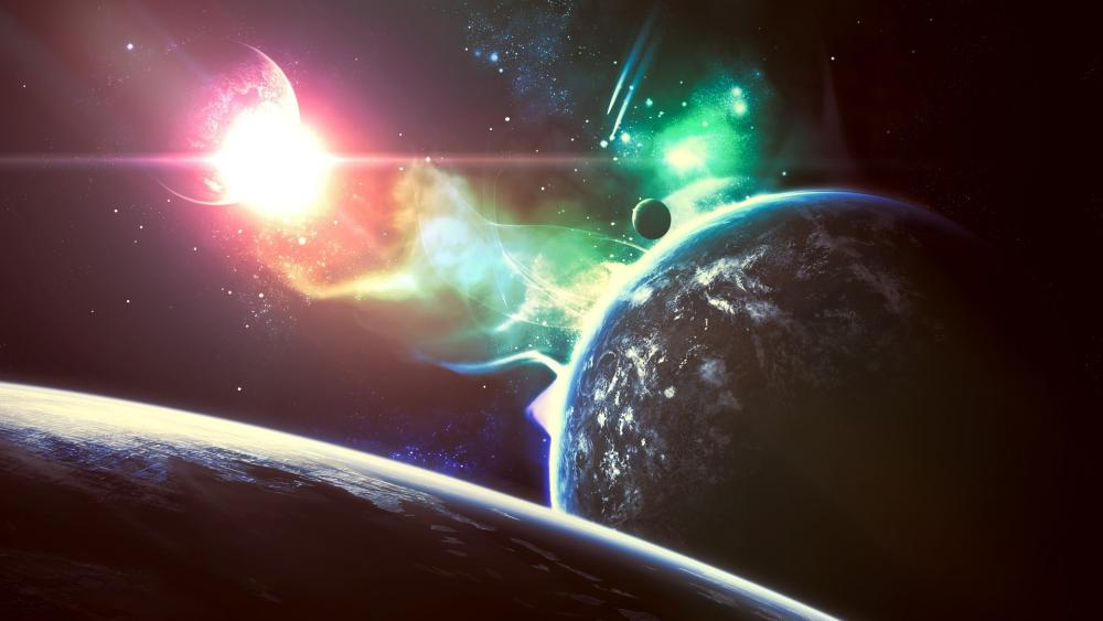 Epic universe wallpaper