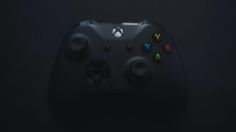 A Xbox One X Controller wallpaper