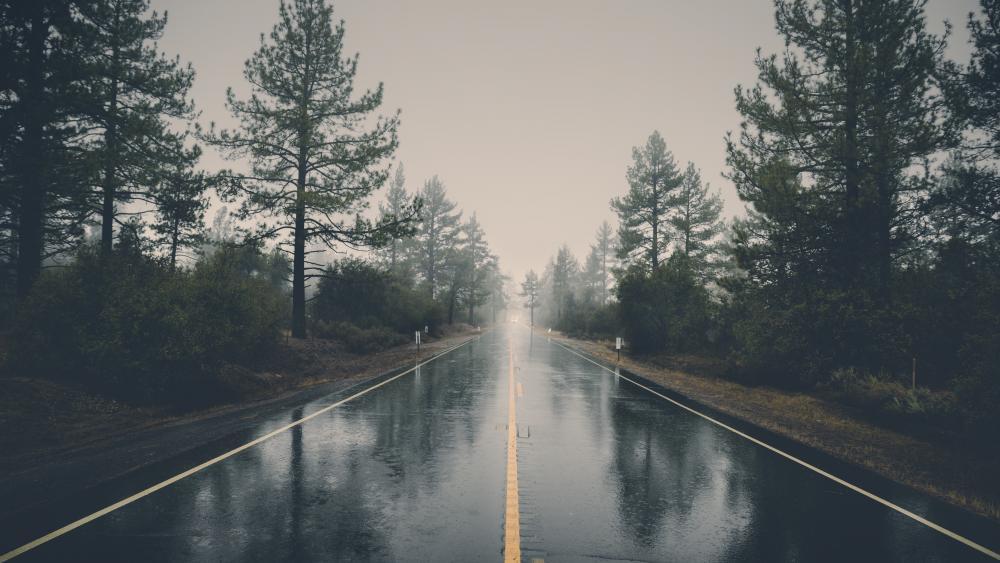 A Wide Road wallpaper