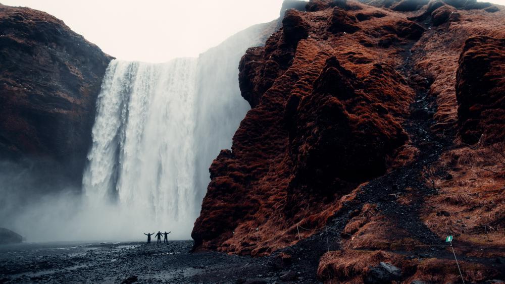 A Gorgeous Waterfall wallpaper