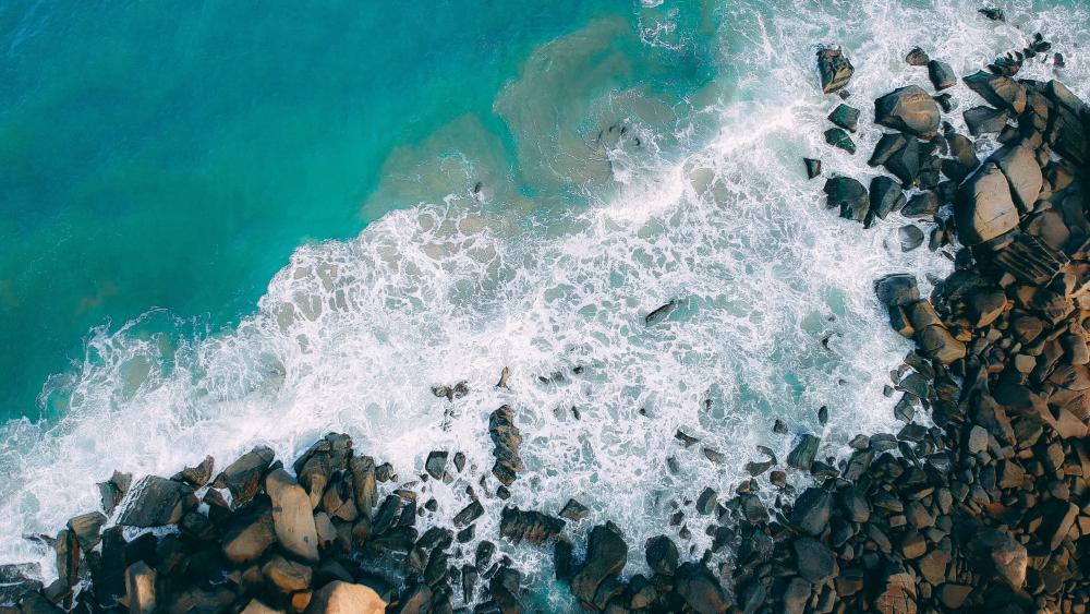 A Sea Shore wallpaper