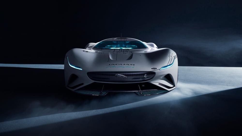 Jaguar Vision Gran Turismo wallpaper