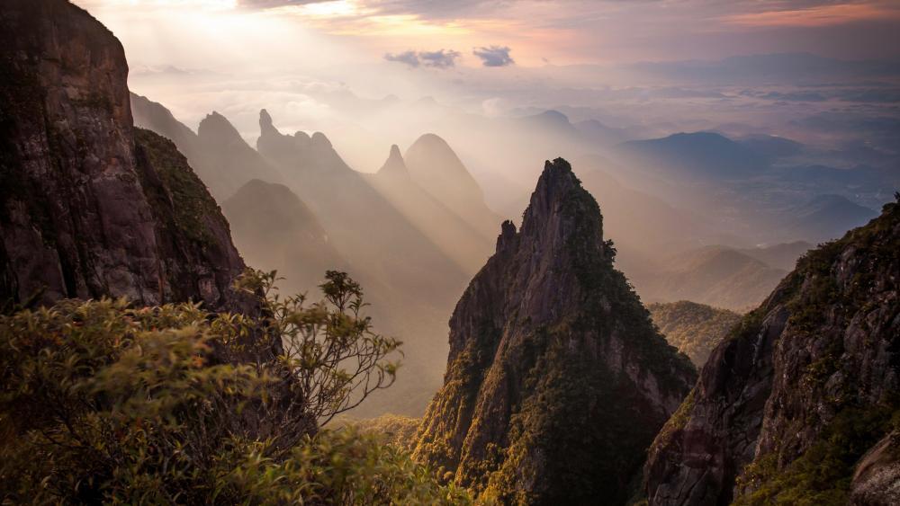 Serra dos Órgãos National Park wallpaper