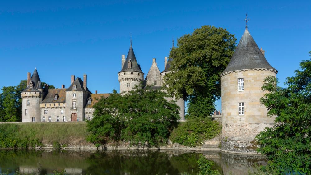 Castillo de Sully-sur-Loire wallpaper