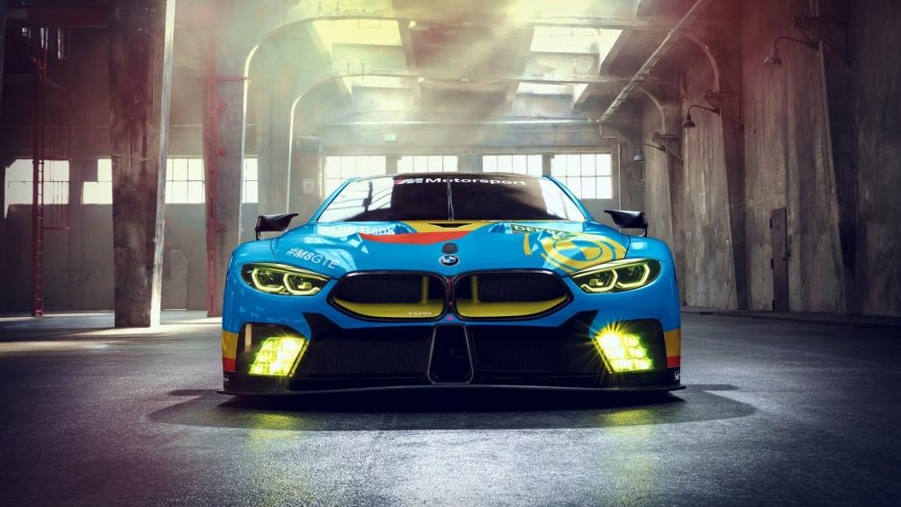 BMW M8 GTE wallpaper