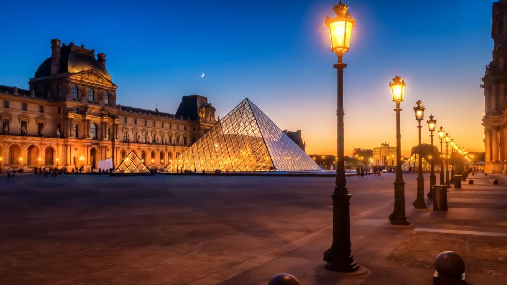 Louvre wallpaper