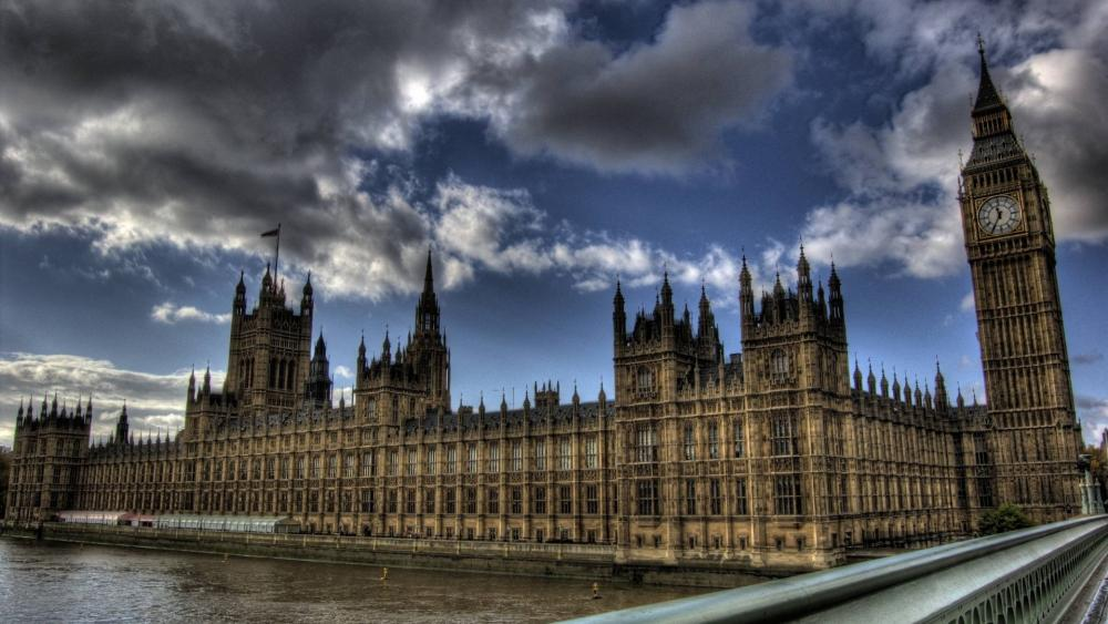 Palace of Westminster from Westminster Bridge wallpaper