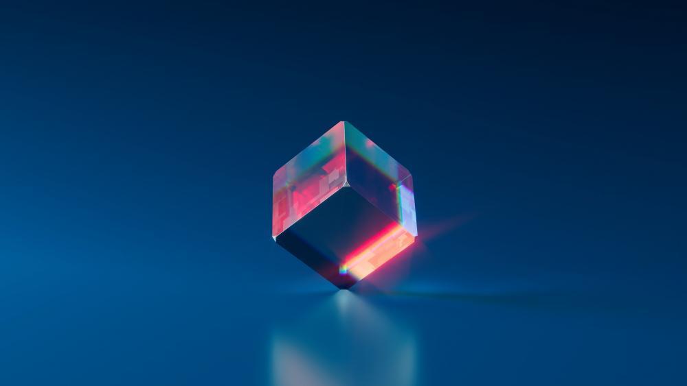 Glass Cube wallpaper