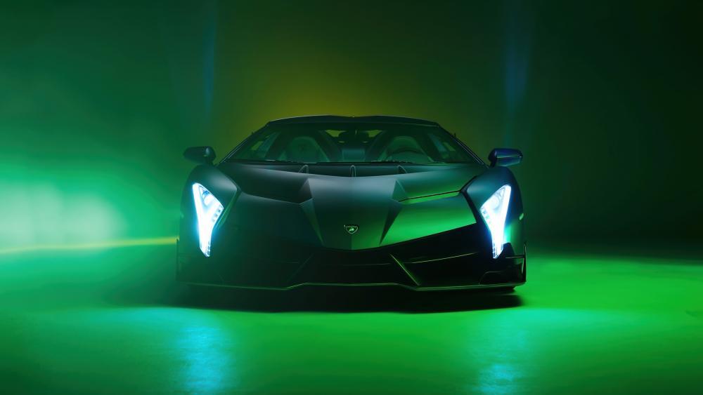 Lamborghini Veneno Roadster wallpaper
