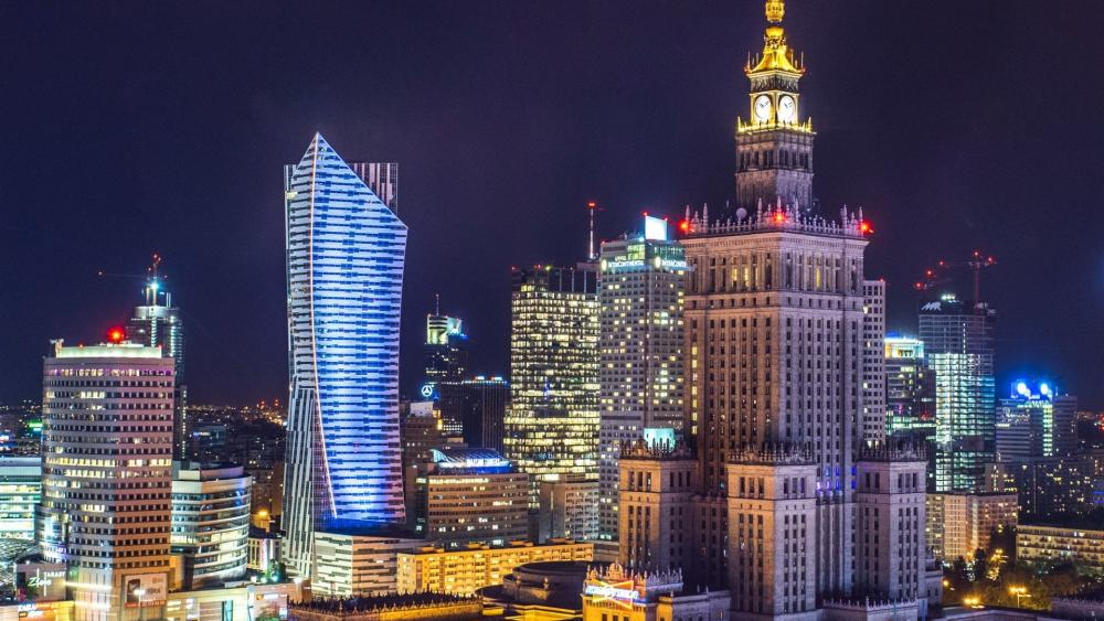 Palace of Culture and Science, Warsaw wallpaper