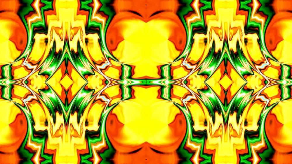 abstract bric a brac wallpaper