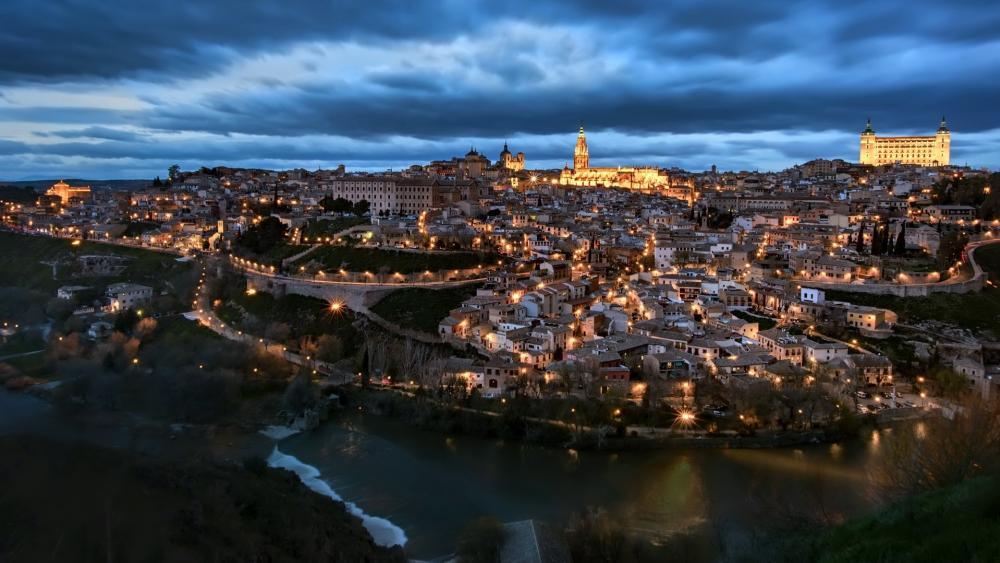 Overcast Toledo wallpaper