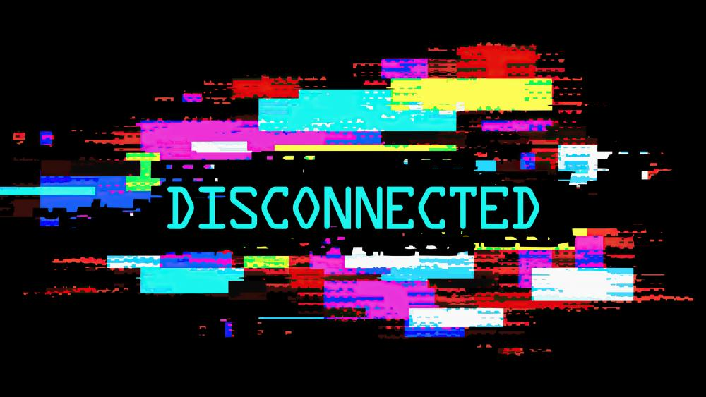 Disconnected wallpaper