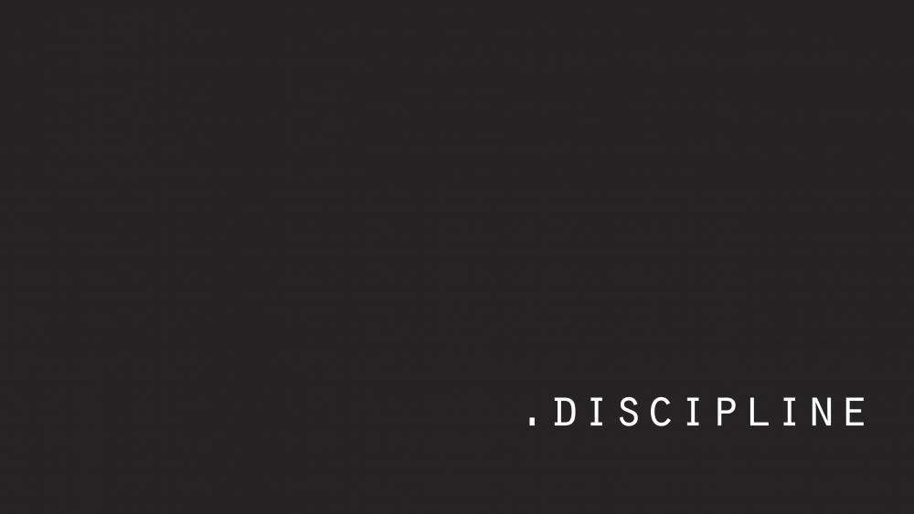 Discipline wallpaper