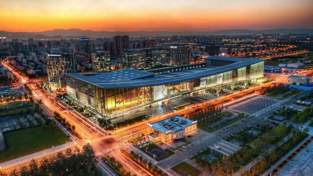 China National Convention Center (CNCC) wallpaper