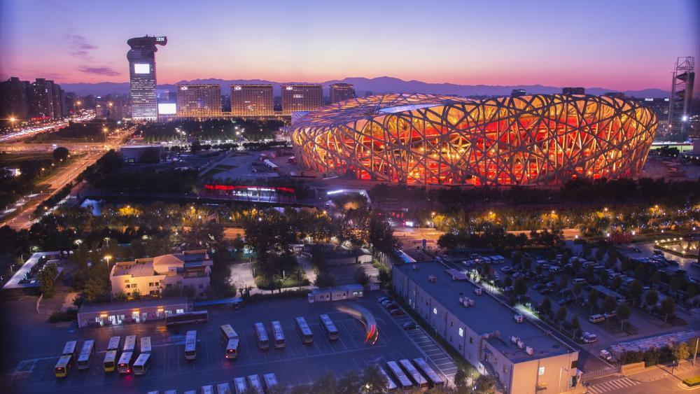 Beijing National Stadium wallpaper