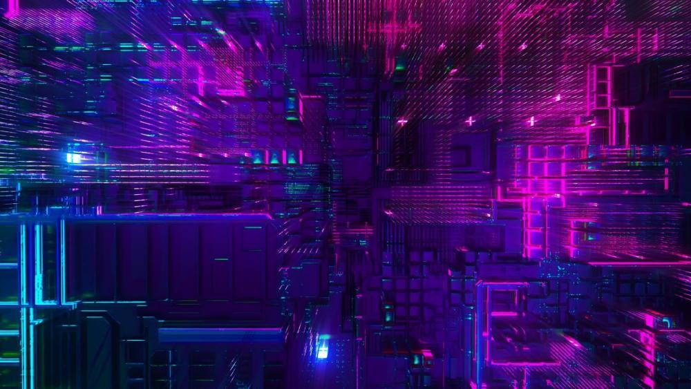 Advanced technology wallpaper