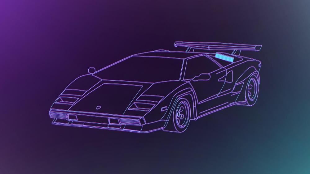 Lamborghini Countach wallpaper