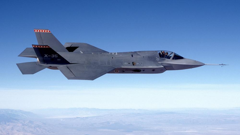 Lockheed Martin F35 wallpaper