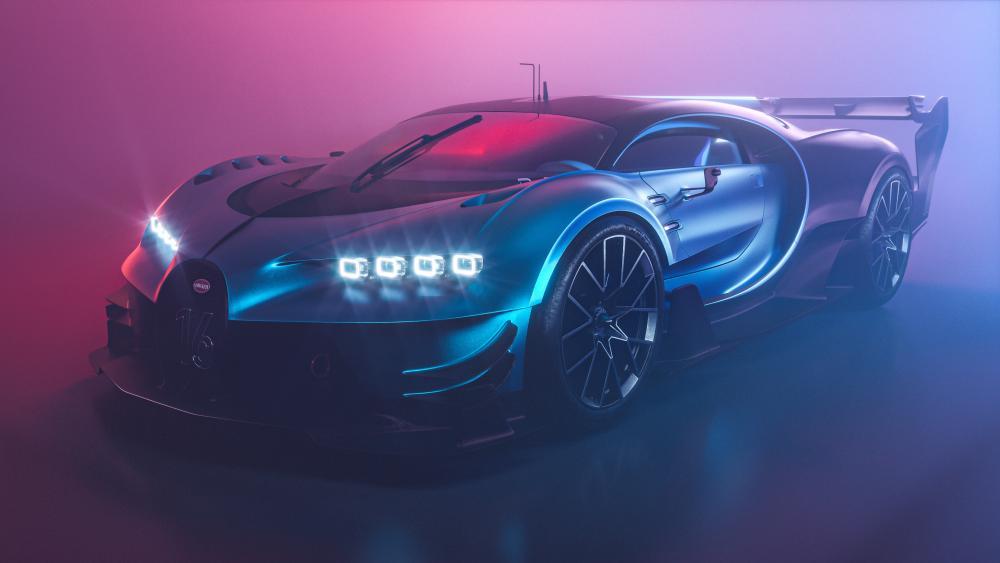 Bugatti Chiron Vision GT wallpaper