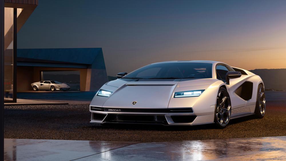 Lamborghini Countach LPI 800 wallpaper