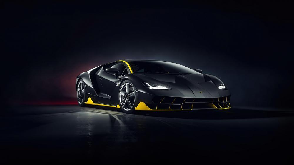 Lamborghini Centenarió CGI wallpaper