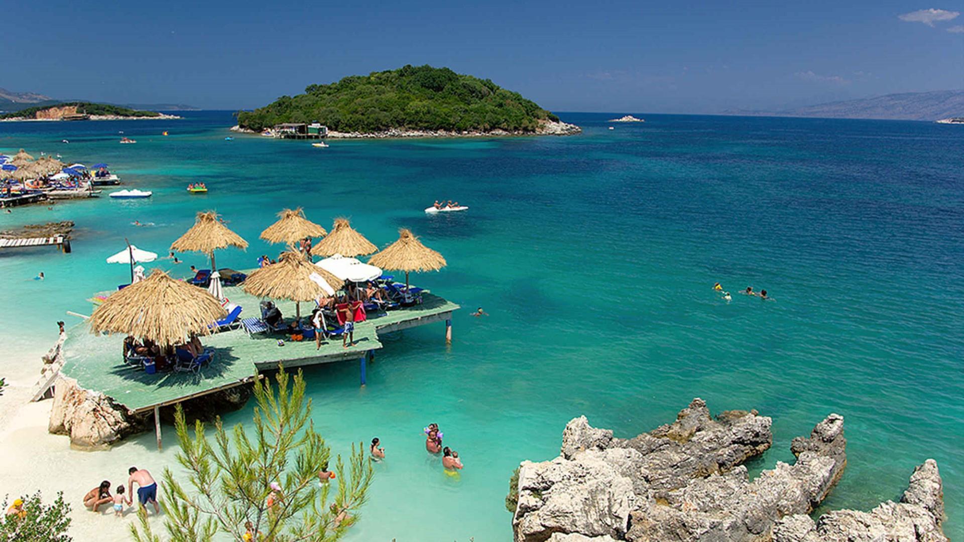 Albanian Riviera - Ksamil wallpaper