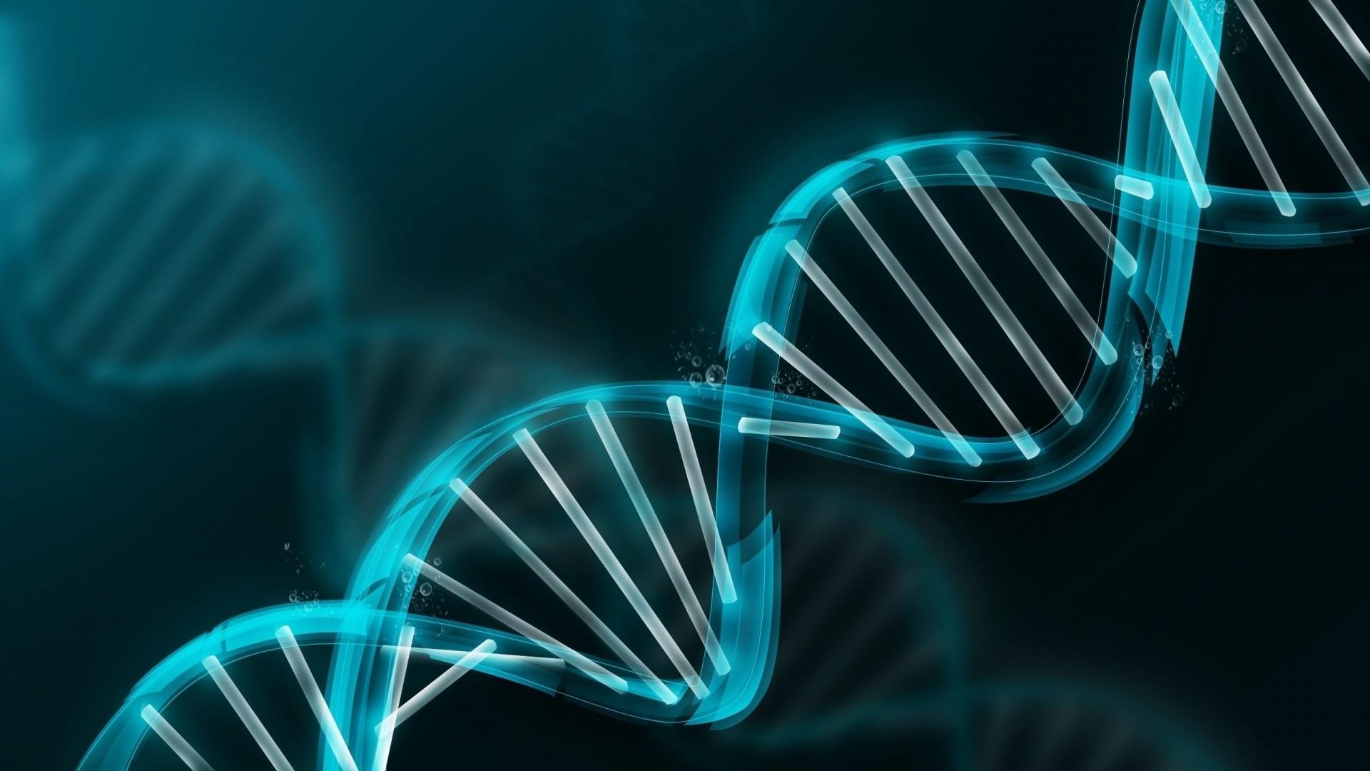 DNA spiral wallpaper