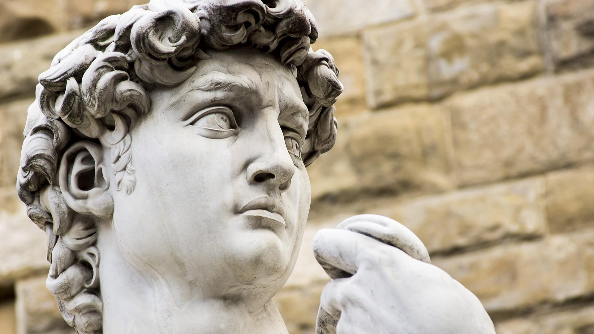 David statue - Florence, Italy wallpaper