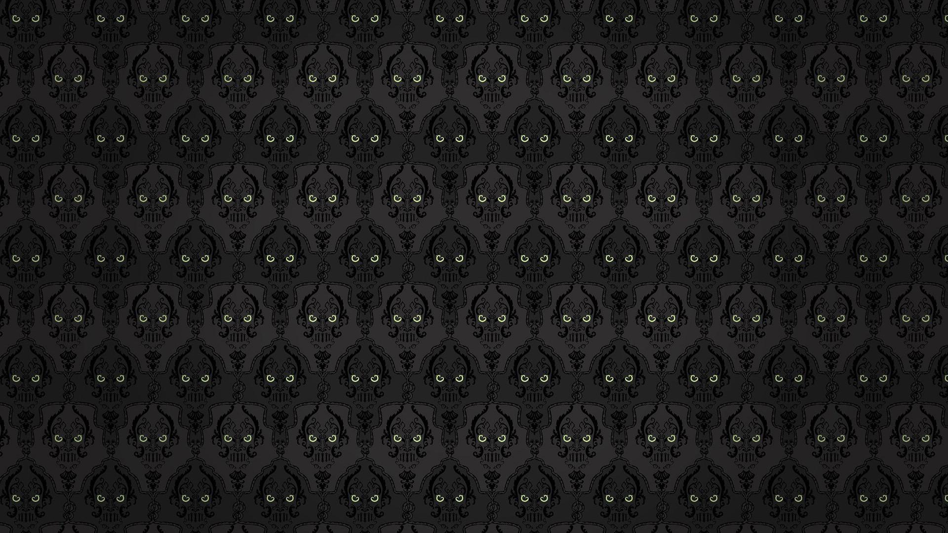 Skull pattern - Abstract art wallpaper
