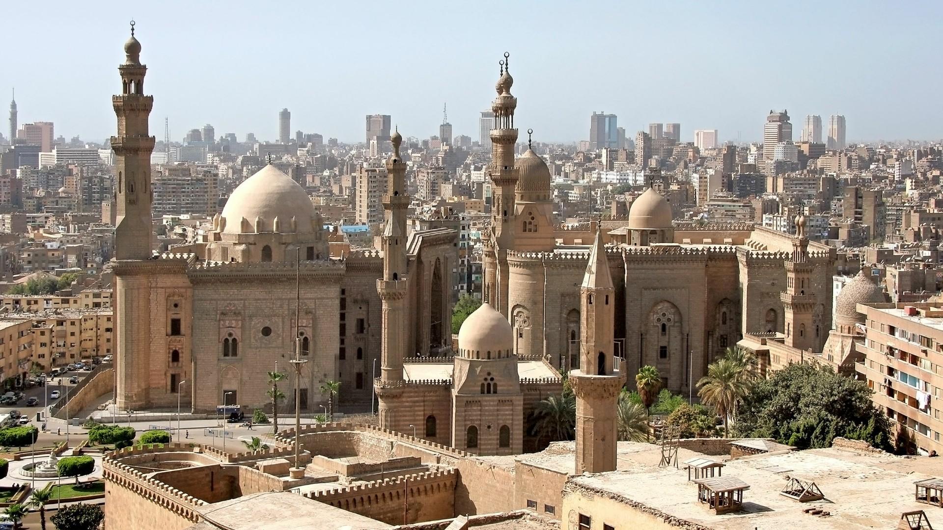 Mosque-Madrassa of Sultan Hassan wallpaper
