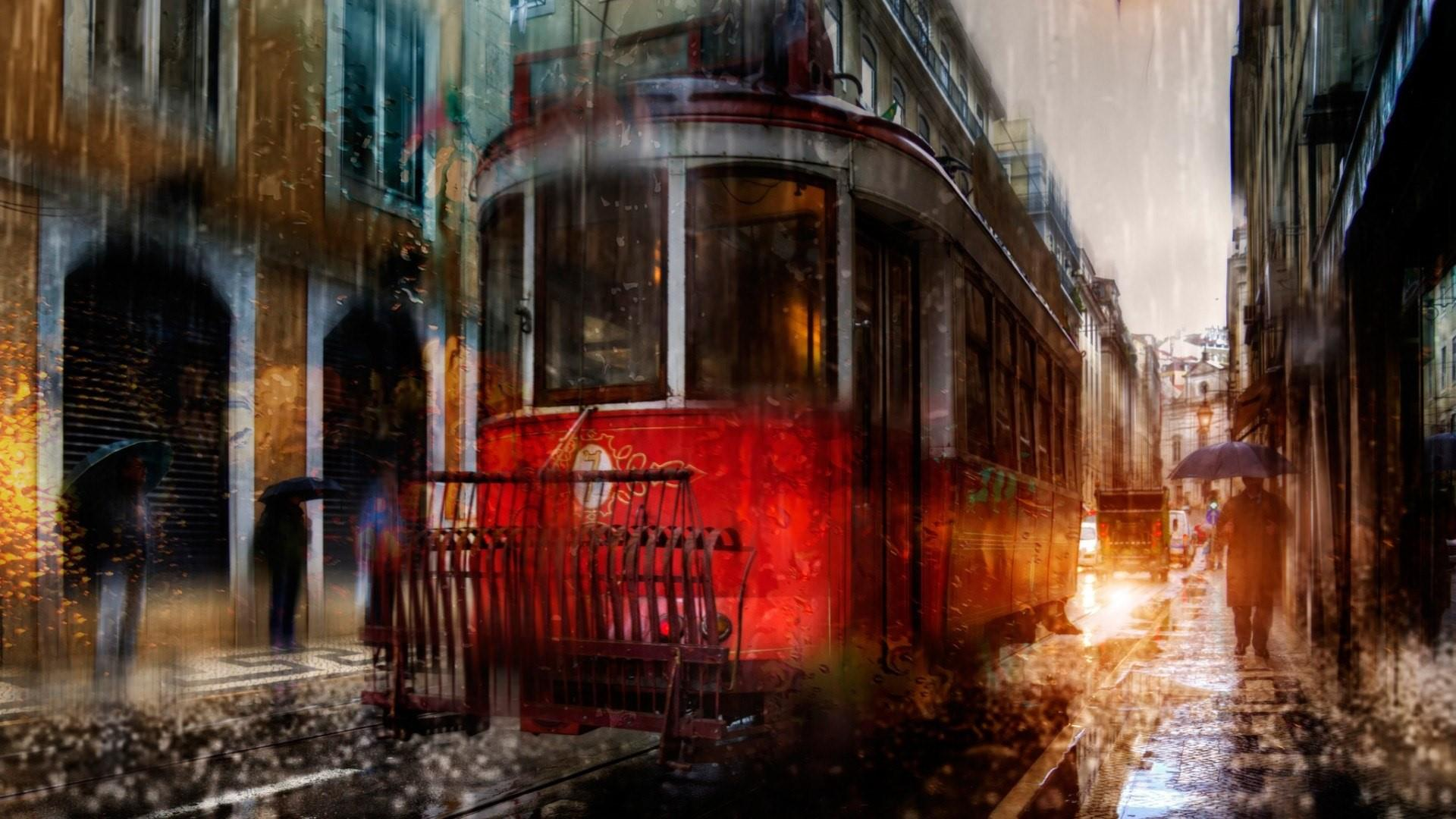 Rainy Day In The City HD Wallpaper - backiee - Free Ultra ...