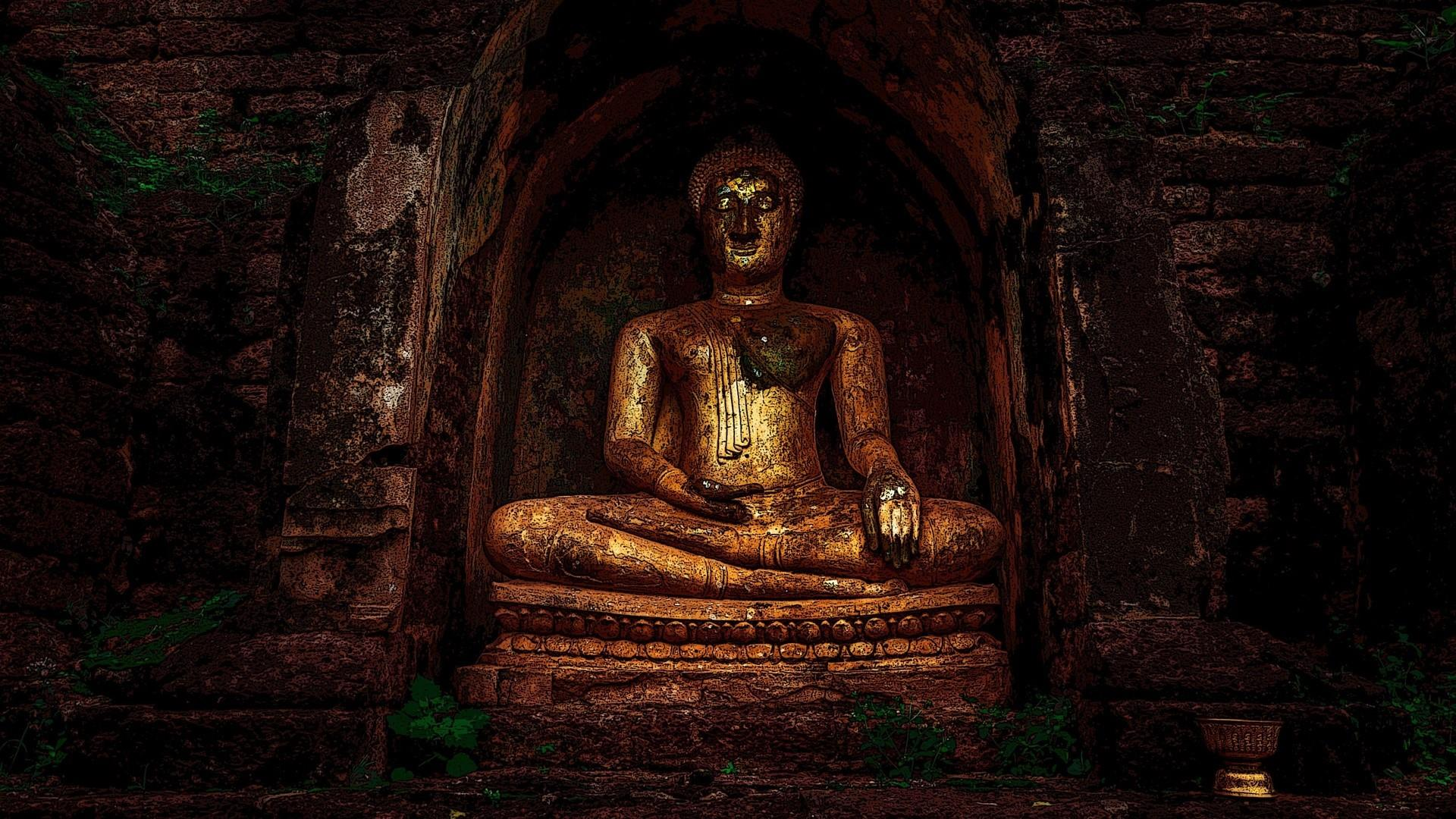 Buddha statue wallpaper