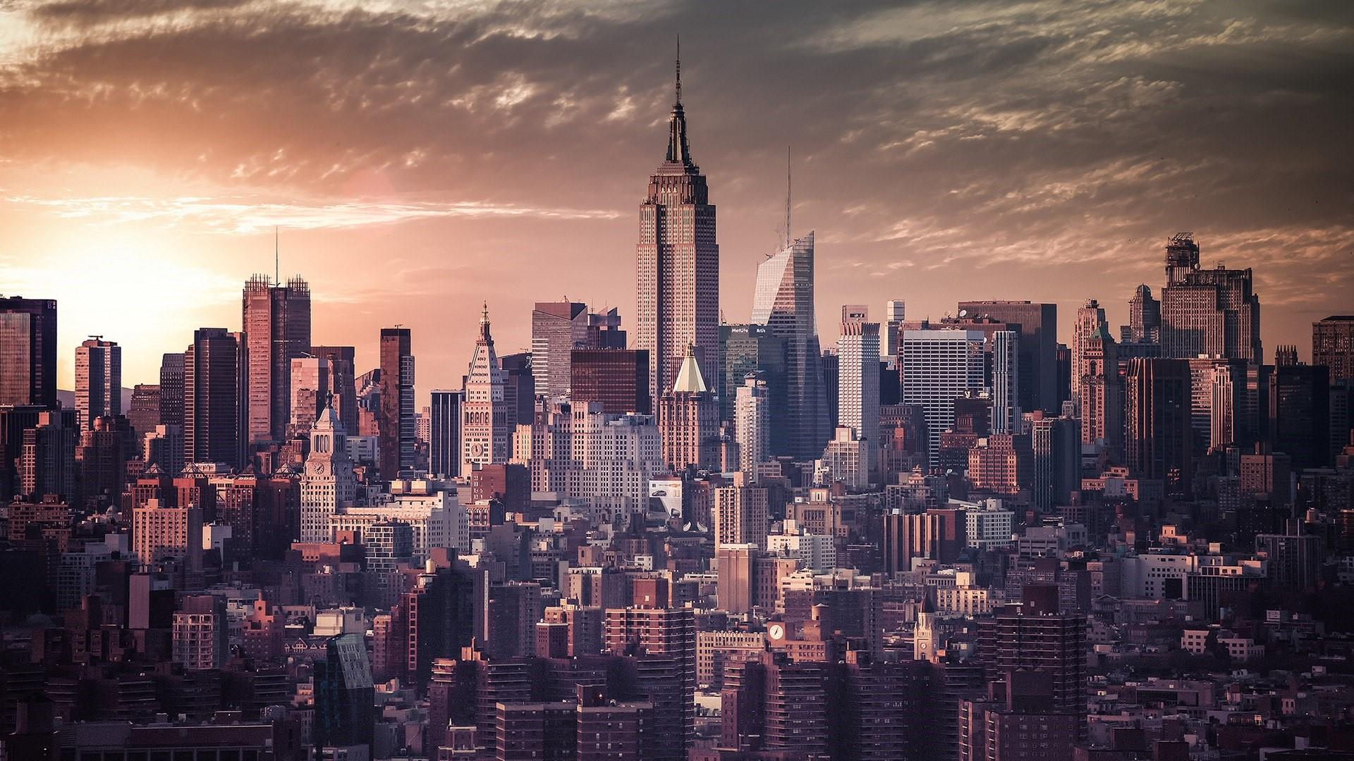 Manhattan Skyline (New York City) wallpaper