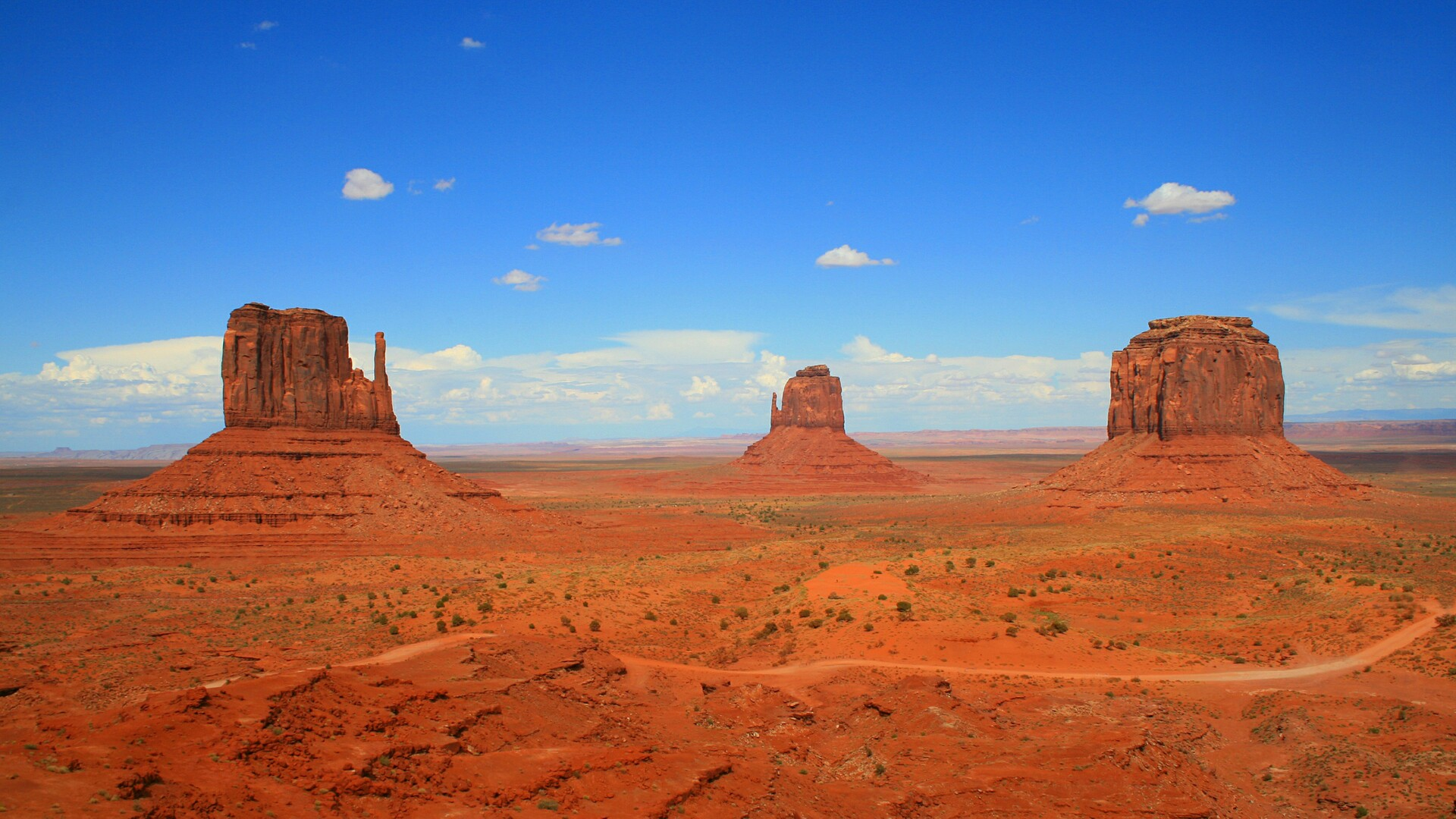 Monument Valley Navajo Tribal Park wallpaper