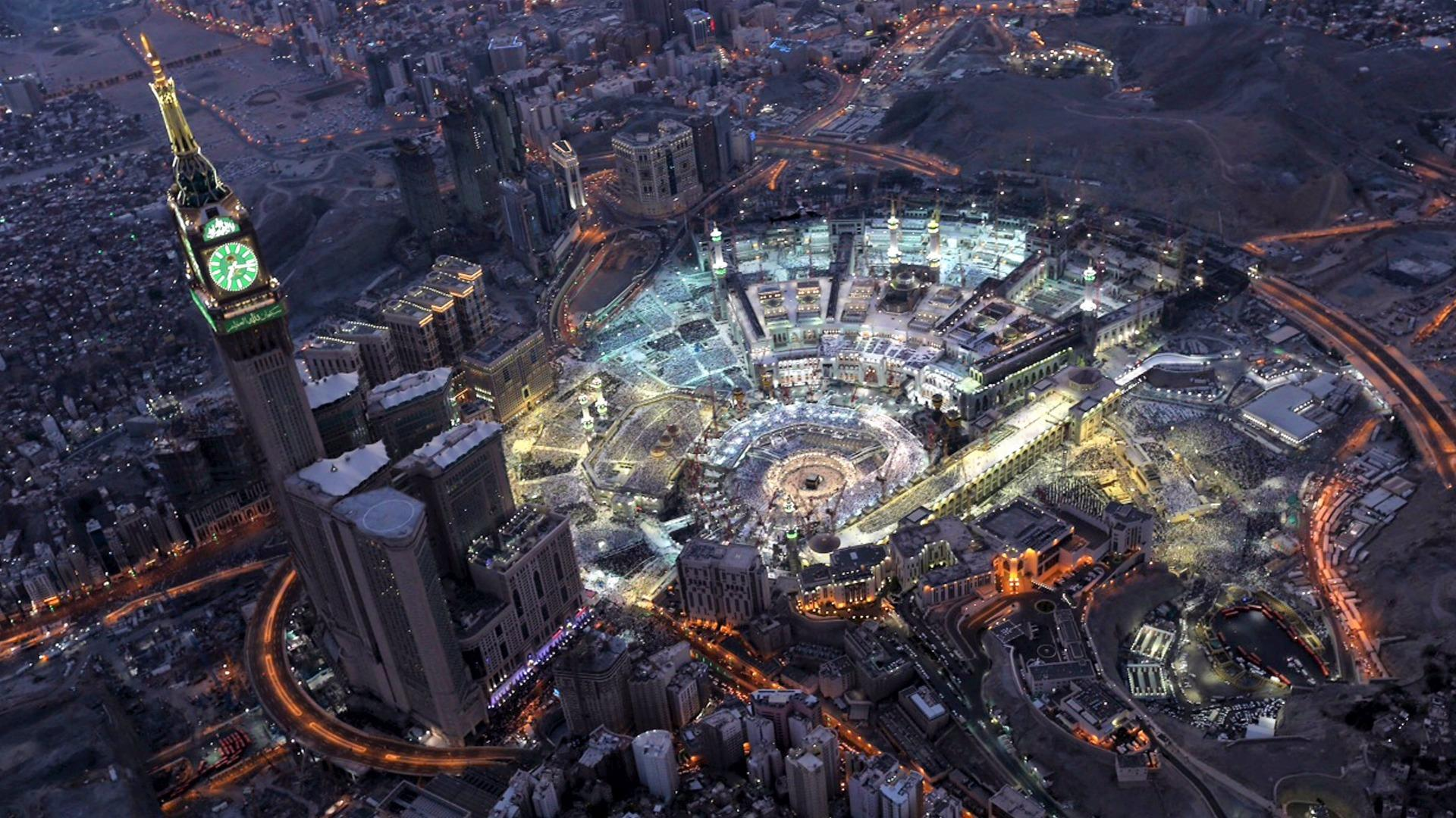 Great Mosque of Mecca wallpaper